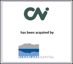CNI Enterprises has been acquired by Clearlake Capital Group